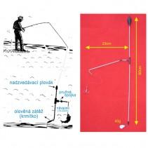 SPORTS - Podvodní bójka 40g 60cm/23cm