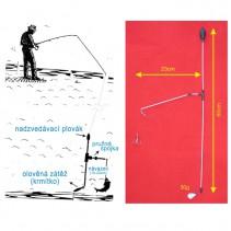 SPORTS - Podvodní bójka 30g 60cm/23cm