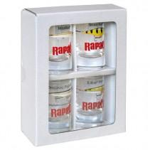 RAPALA - Skleničky na panáky Shot Glass 4ks