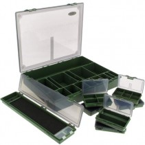 NGT - Sada krabiček Tackle Box System 7+1 Large