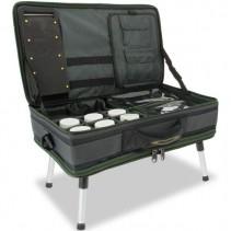 NGT - Stolek s Kufrem Carp Bivvy Table System