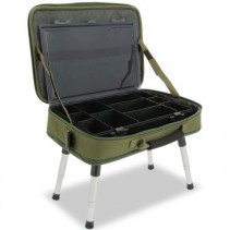 NGT - Stolek v Kufříku Box Case Tackle Bag with Bivvy Table