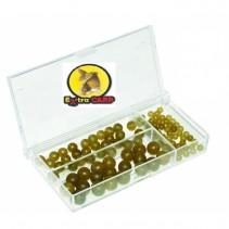 EXTRA CARP - Sada gumových korálků Rubber Beads Set 100ks