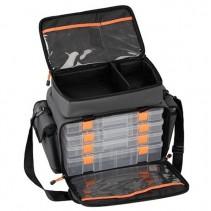 SAVAGE GEAR - Taška na nástrahy Lure Bag L + 6 boxů (35x50x25cm)