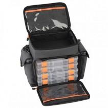 SAVAGE GEAR - Taška na nástrahy Lure Bag M + 6 boxů (30x40x22cm)