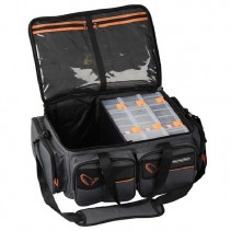 SAVAGE GEAR - Taška na nástrahy System Box Bag XL 3 Boxes + Waterproof cover