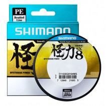 SHIMANO - Pletená šňůra Kairiki PE Green 150m