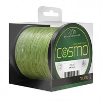 FIN - Hladká a kulatá šňůra Cosmo zelená 1000m