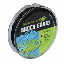 GIANTS FISHING - Šoková odhozová šňůra Shock Braid 100m