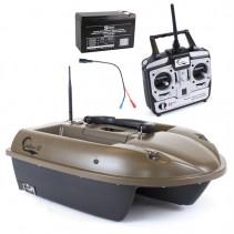 SPORTS - Zavážecí loďka M2 - zásobník 4kg + Náhradní baterie + Boilies ZDARMA!