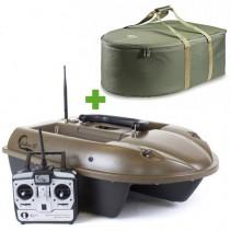 SPORTS - Zavážecí loďka M2 - zásobník 4kg + Přepravní taška + Boilies ZDARMA!