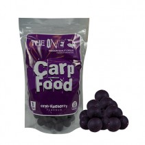 THE ONE - Rozpustné boilies Carp Food Purple 1kg 22mm
