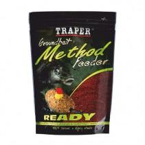 TRAPER - Navhlčená krmítková směs Method Feeder Ready 750g