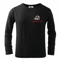 HELL-CAT - Tričko Classic černé s dlouhým rukávem