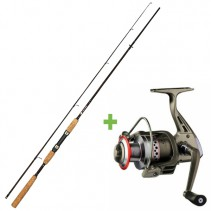 GIANTS FISHING - Prut LXR Spin 2,7m 9ft 20-40g + Naviják SPX 3000 FD ZDARMA!