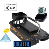 SPORTS - Zavážecí loďka Bait Liner + Bezdrátový sonar do 60m + Boilies ZDARMA!