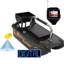SPORTS - Zavážecí loďka Bait Liner + Bezdrátový sonar v hodinkách + Boilies ZDARMA!