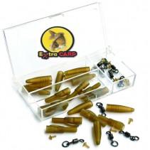 EXTRA CARP - Závěs na zátěž Lead Clip With Swivel Ring