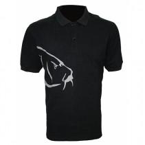 ZFISH - Tričko Carp Polo T-Shirt Black