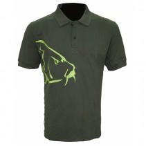 ZFISH - Tričko Carp Polo T-Shirt Olive Green