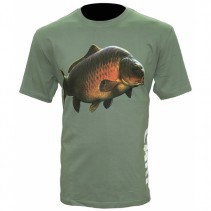 ZFISH - Tričko Carp T-Shirt Olive Green
