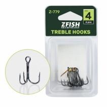 ZFISH - Trojháčky Treble Hooks Z-779