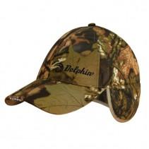 DELPHIN - Zimní čepice s LED diodami